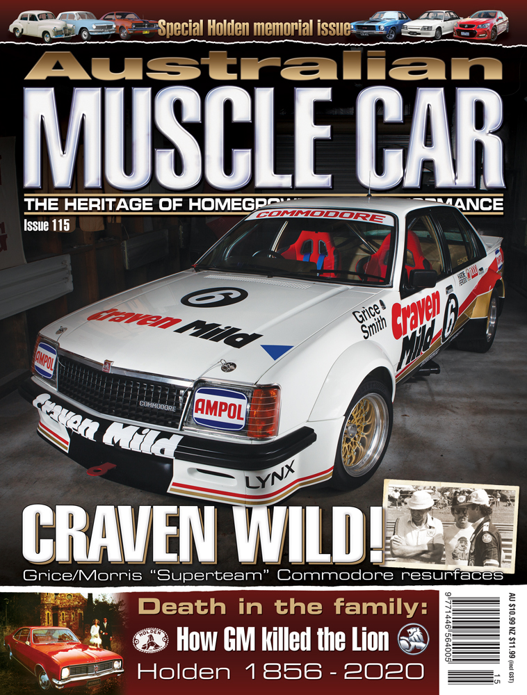 The cover of Australian Muscle Car issue 115.